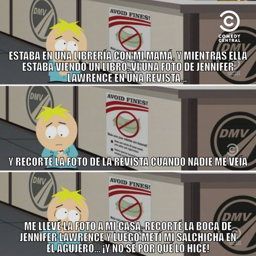 confesion butters