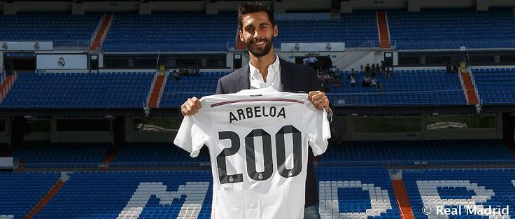 "Arbeloa: ""For a youth academy player like me to have played 200 games for Real Madrid is unimaginable"". ""I want to be part of this club for as long as I can. I will always put in the effort and make sacrifices""."