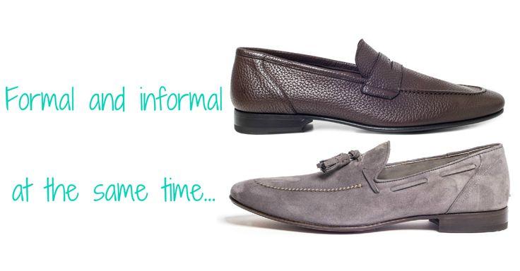 Pantofole uomo: Pantofola Vulcano in suede grigio; pantofola Cesena in vitello marrone Franceschetti SS15