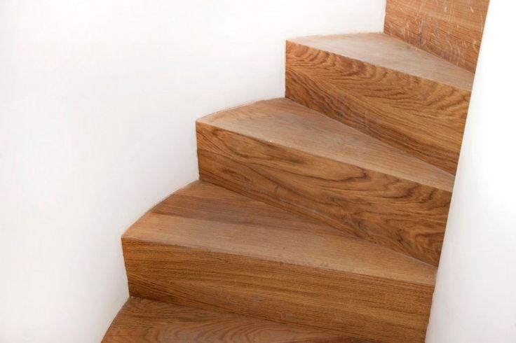 Jouw trap bekleden met hout trap bekleding bij bebo parket service door heel - Trap ijzer smeden en hout ...