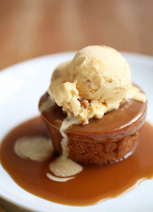 Sticky Toffee Cake and Nut Brittle Ice Cream