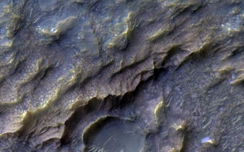 """Marte: la NASA scopre """"squame di drago"""" sulla superficie del pianeta rosso"""