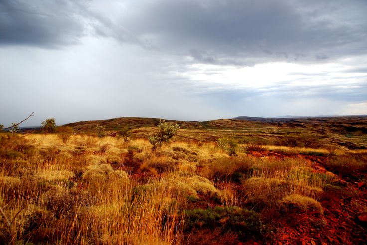 Newman - Sunday drive on a stormy day in the ranges