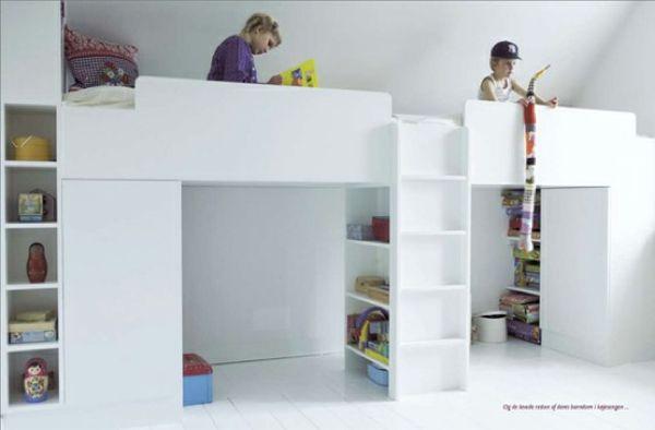 idee speelruimte boven bed
