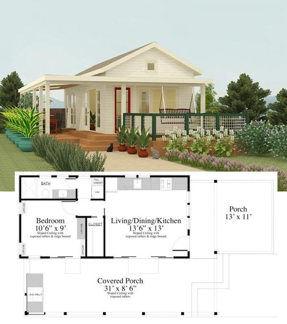 Dream Home Layout 27 Adorable Free Tiny House Floor Plans Dreamhome Layout Tiny House Floor Plans Tiny House Design Tiny House Plans