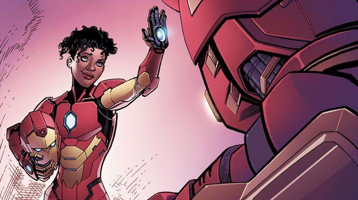 Riri Williams Soars in Marvel's INVINCIBLE IRON MAN #1 (Preview)
