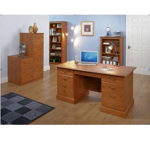 30 best images about home office desks with drawers on pinterest see best ideas about solid - Pine office desk ...
