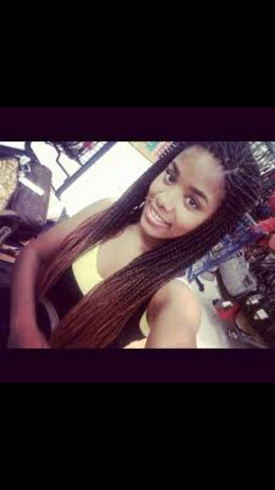 I need to try this one day! Ombre senegalese twists