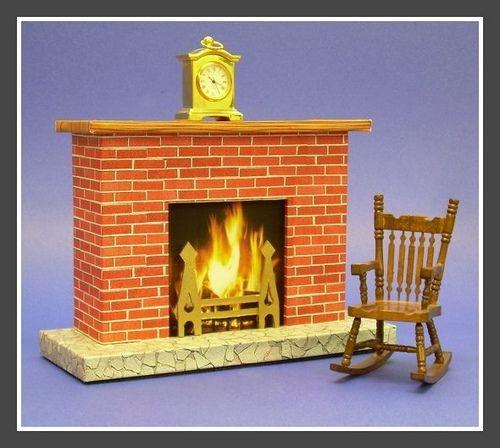 61 best Vintage Cardboard Fireplaces images on Pinterest ...