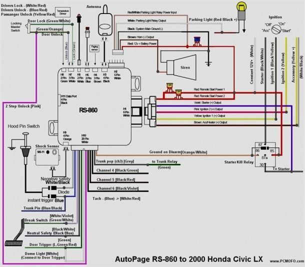 [DIAGRAM_38DE]  Honda Civic 2000 Radio Wiring Diagram | Car alarm, Honda civic, Diagram | Honda Car Radio Wiring Diagram Free Picture |  | Pinterest