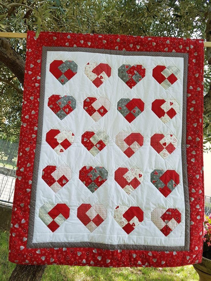 """Quilt realizzato con i tessuti della collezione """"JOL"""" by Moda distribuiti da TTS Moda Fabrics"""