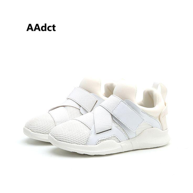 Bakkotie 2017 Nouveau Automne Bébé Garçon Sport Blanc Chaussures  Enfant Marque Loisirs Sneaker Anti-coup de pied Respirant Fille ...