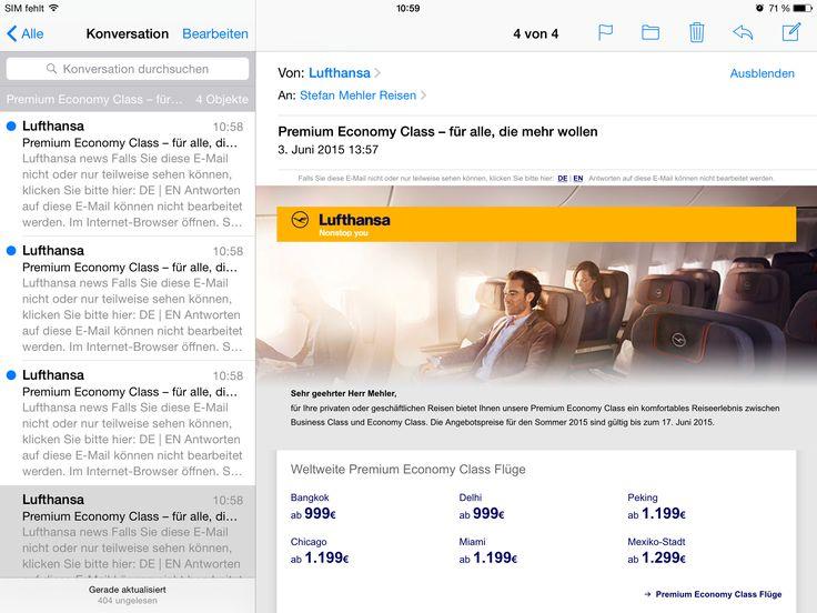 #Lufthansa #Premium_Economy #Angebot #Flugpreise | #Reisebüro #Mülheim