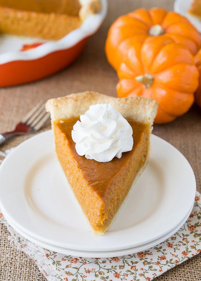 Pumpkin Pie Recipe - I Wash... You Dry