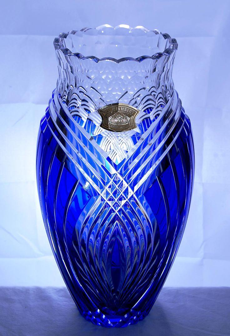 Val Saint Lambert | Val Saint Lambert Vase Award – Corporate Awards and Business