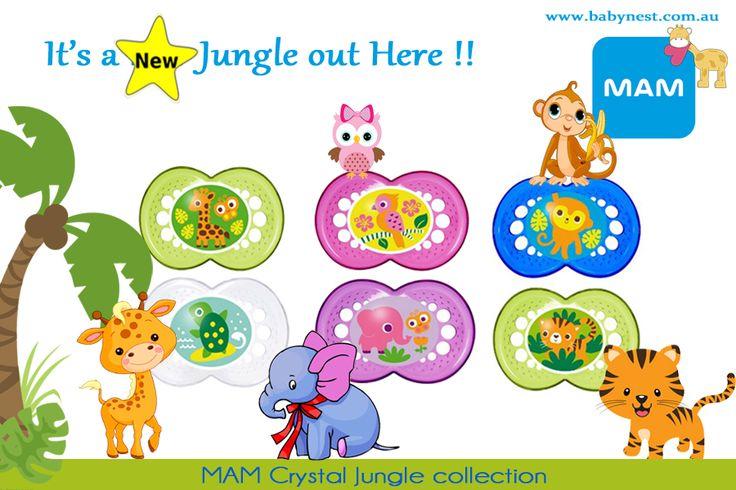 #babynest -MAM crystal Jungle - NEW Collection #babynest