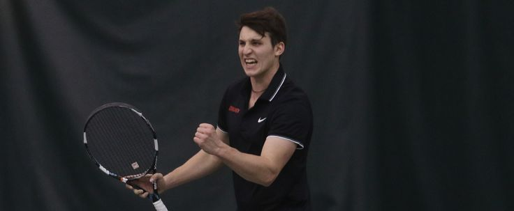 Panthers Pounce on Tritons for 8-1 GLVC Home Win in Men's Tennis