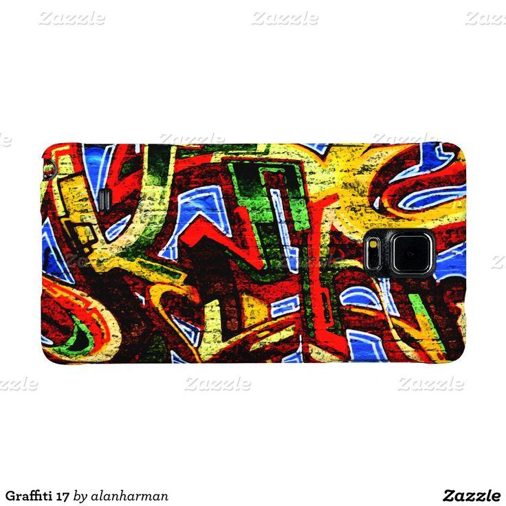 Graffiti 17 galaxy note 4 case