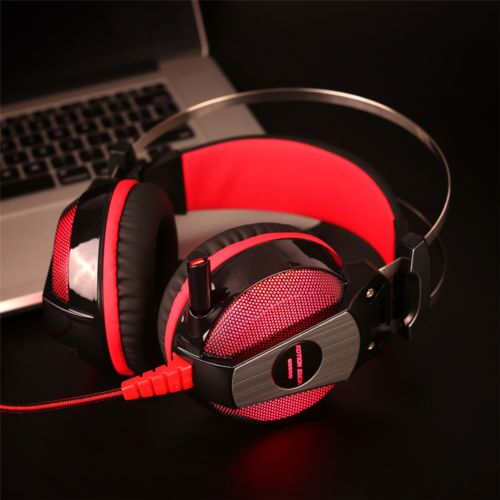 PS4 Headset Computer Laptop headphone Gaming Headphones with microphone