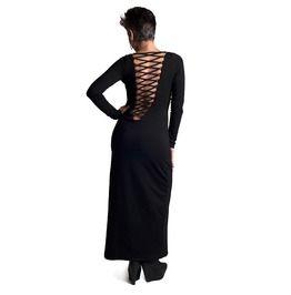 All Black Magic Dress Dark Goth Witch Occult Gothic Ouija Rocker Glam Punk