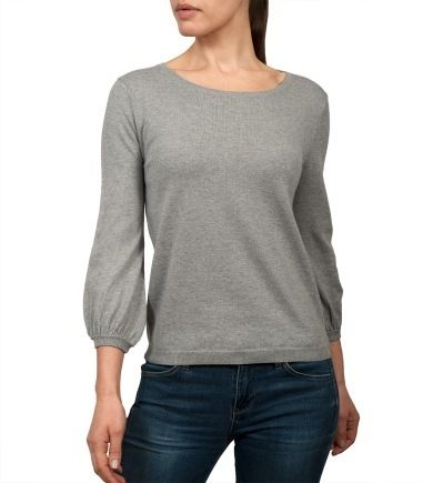 Wool Overs Womens Blouse Sleeved Jumper Flannel