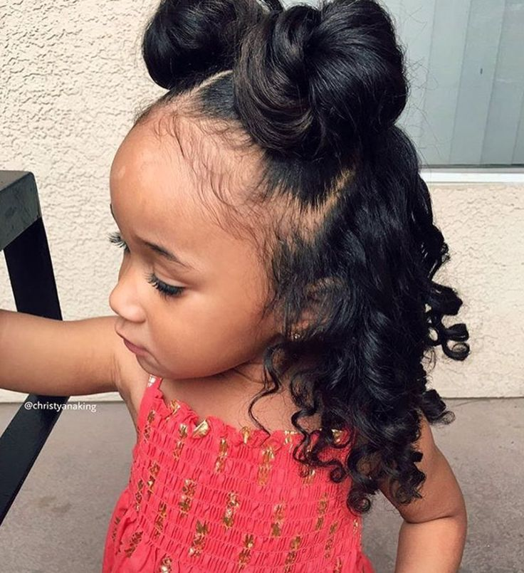 Hairstyles For Black Little Girls 2fishbone cornrows So Adorable Christyanaking Httpsblackhairinformationcomhairstyle Gallery Kid Hairstylesblack Kids