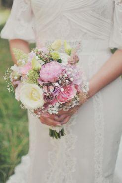 vintage bruidsboeket pioenrozen - Google zoeken