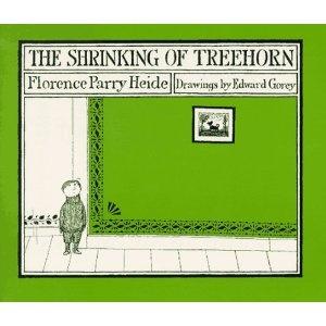 The Shrinking of Treehorn: Amazon.ca: Florence Parry Heide, Edward Gorey: Books