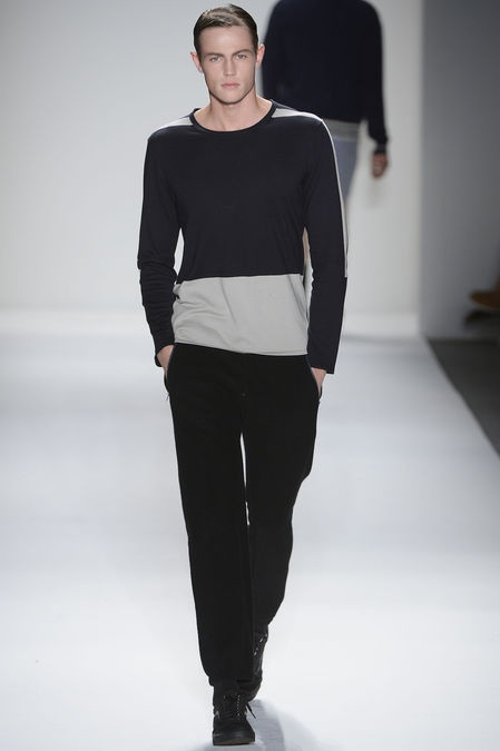 L/S sweater from Timo Weiland S/S 2013