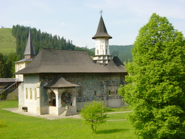 Monastery from Bucovina, Romania