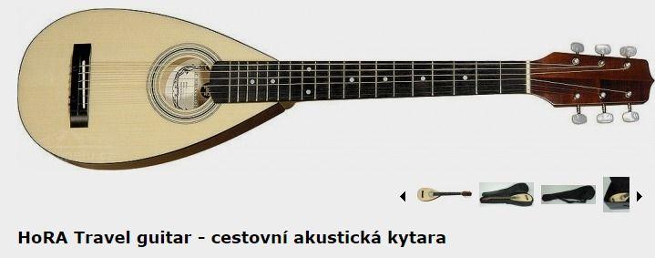 HoRA Travel guitar - cestovní akustická kytara | Prokapelu.cz