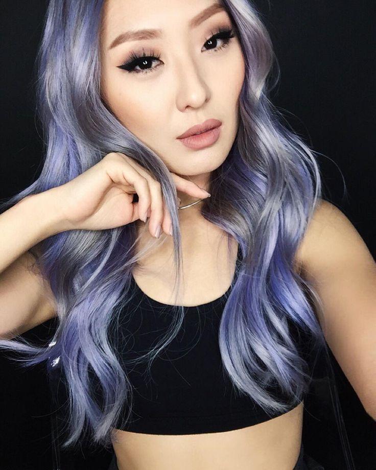 Fashionista807 / Sophia Chang Silver Purple Hair