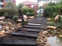 steps and rocks