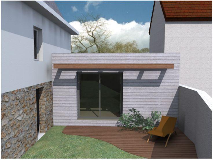 Construction passive en bois Verrières le Buisson 91370