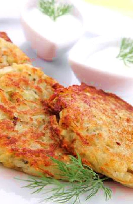 Potato rosti cakes recipes