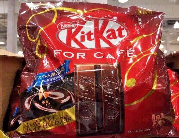 Sachet grand format de KitKat For Café livraison directe Japon