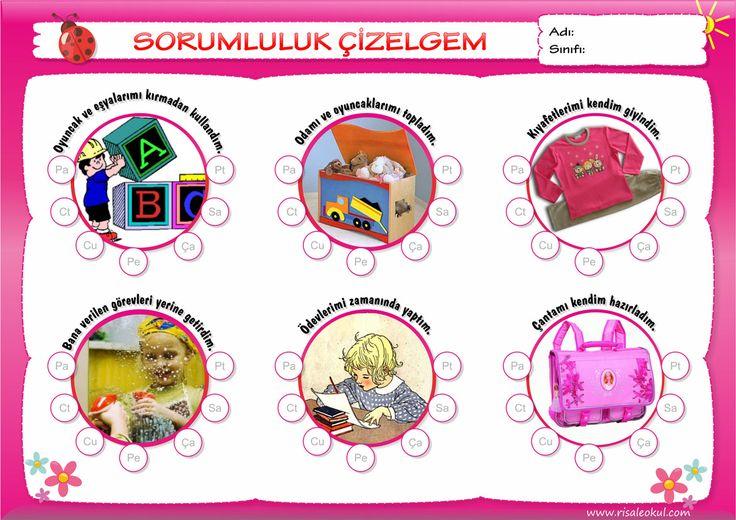 Davranış Takip Çizelgeleri – Okullara Özel «