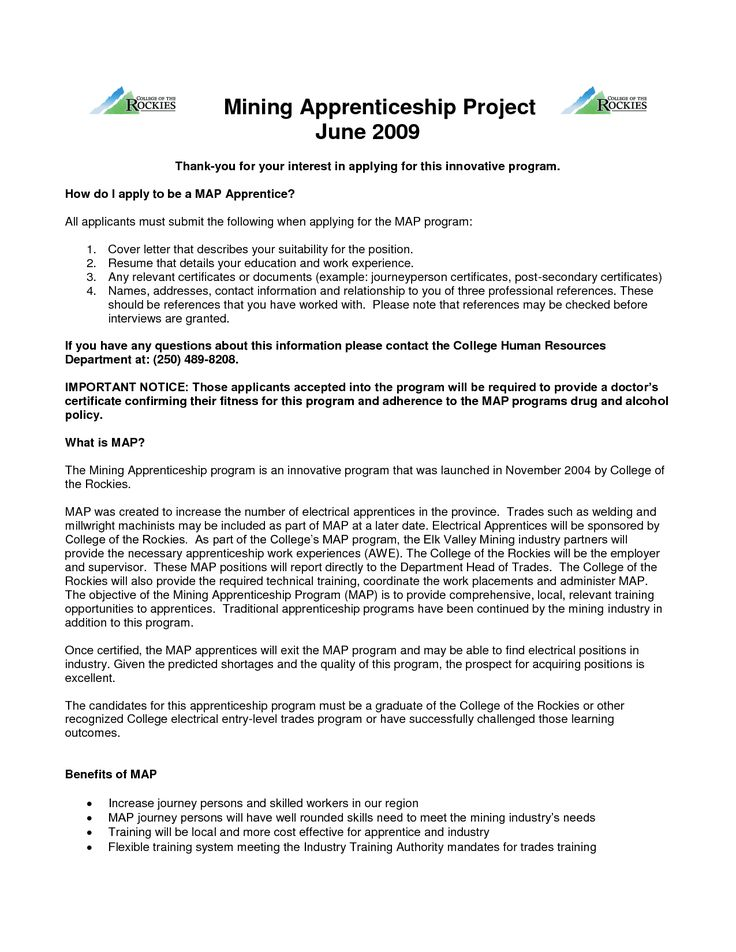 apprenticeship essay example apprentice plumber cover letter - fha loan processor sample resume