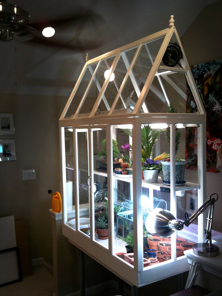 DIY Build your own indoor greenhouse