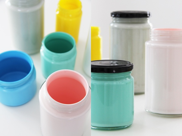 Bambula: Some color to your glass jars
