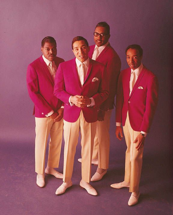"Smokey Robinson and the Miracles...a favorite ""group""!"