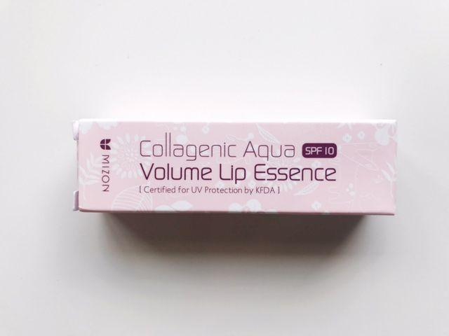 Collagenic Aqua Volume Lip Essence x Mizon