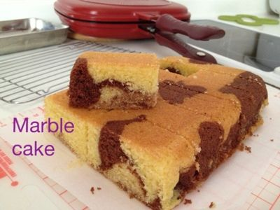 My Mind Patch: Happycall marble butter cake