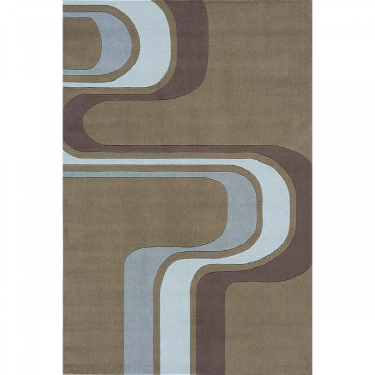 Momeni Lil' Mo Hipster Army Green Contemporary Kids Rug - LMT-2ARG