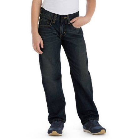 Signature by Levi Strauss & Co. Boys' Straight Fit Jeans - Walmart.com