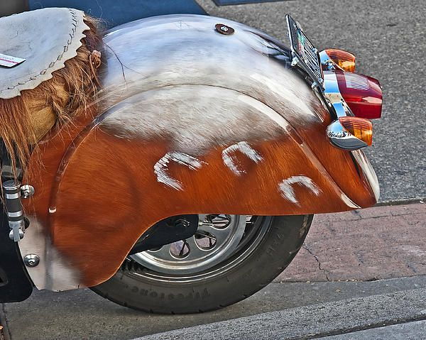 Back of indian customized motorcycle print by valerie garner motorcycles indian and fine art - Valerie garnering ...