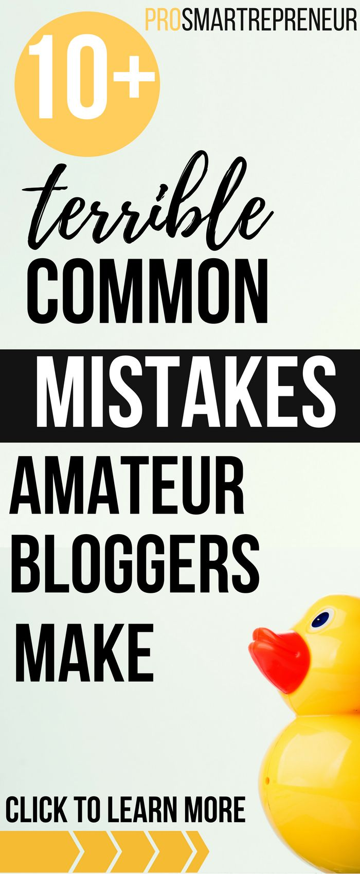 Avoiding some of the TERRIBLE common blogging mistakes (which is discussed in details here) may push you EONS ahead of your blogging journey skipping all the frustrating part.