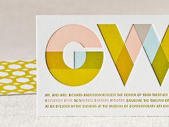 Melange   Elum, sinfully stunning letterpress