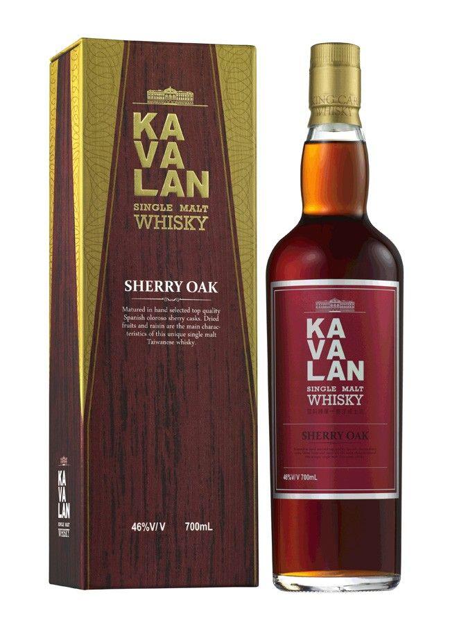 Whisky KAVALAN Ex-Sherry Oak 46% - La Maison du Whisky