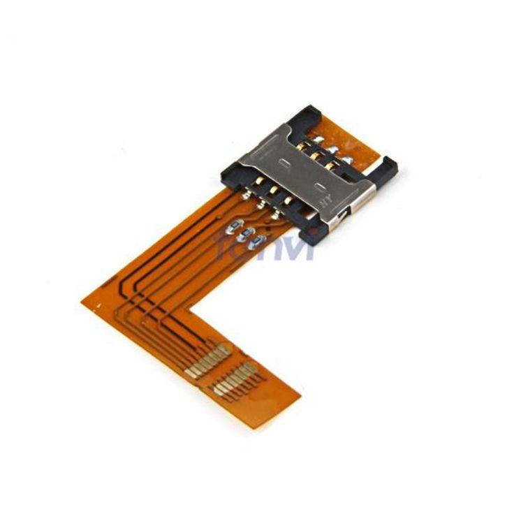 Usim sim card socket slot 3G WWAN solderless mini pci-e module holder modem connector for